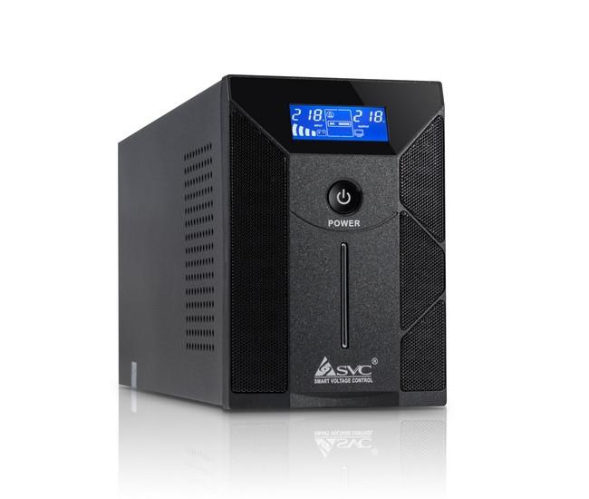 ИБП SVC W-600L, синусоида, без АКБ (600 ВА, 360 Вт)