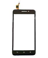 Сенсор Huawei Ascend G620S, цвет черный