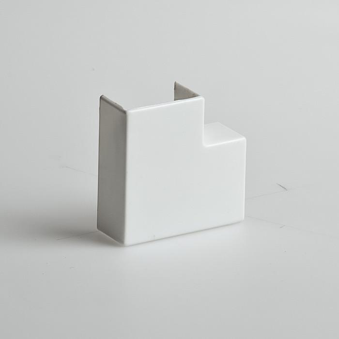 Поворот на 90 градусов, РУВИНИЛ, ПВР-100х60, для РКК-100х60 и 100х40, Белый, (4 штуки в пакете)