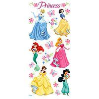 """Набор наклеек """"Princess"""" с глиттером"""