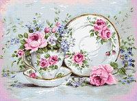 """Набор для вышивания """"Трио и цветы"""""""