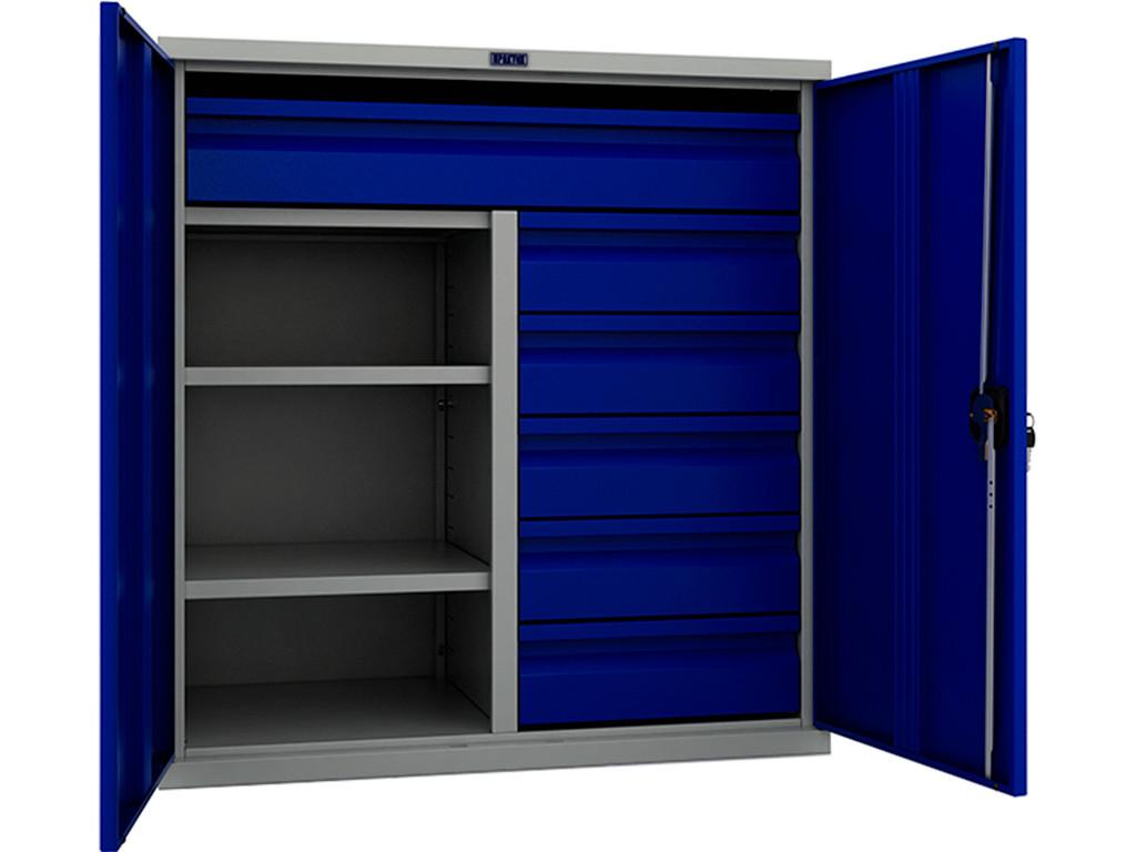 Шкаф инструментальный металлический ТС-1095 100215 (1000х950х500 мм)