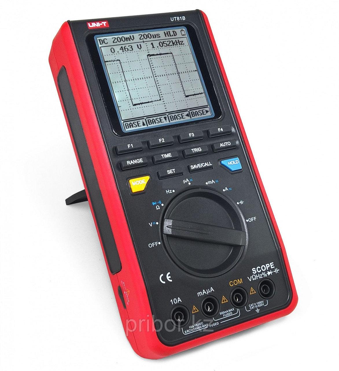 Осциллограф-мультиметр 8МГц, одноканальный  UT81B