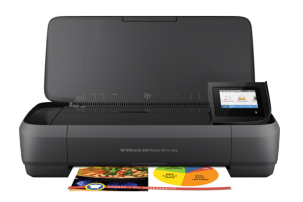 Принтер HP N4L16C OfficeJet 252 Mobile AiO A4