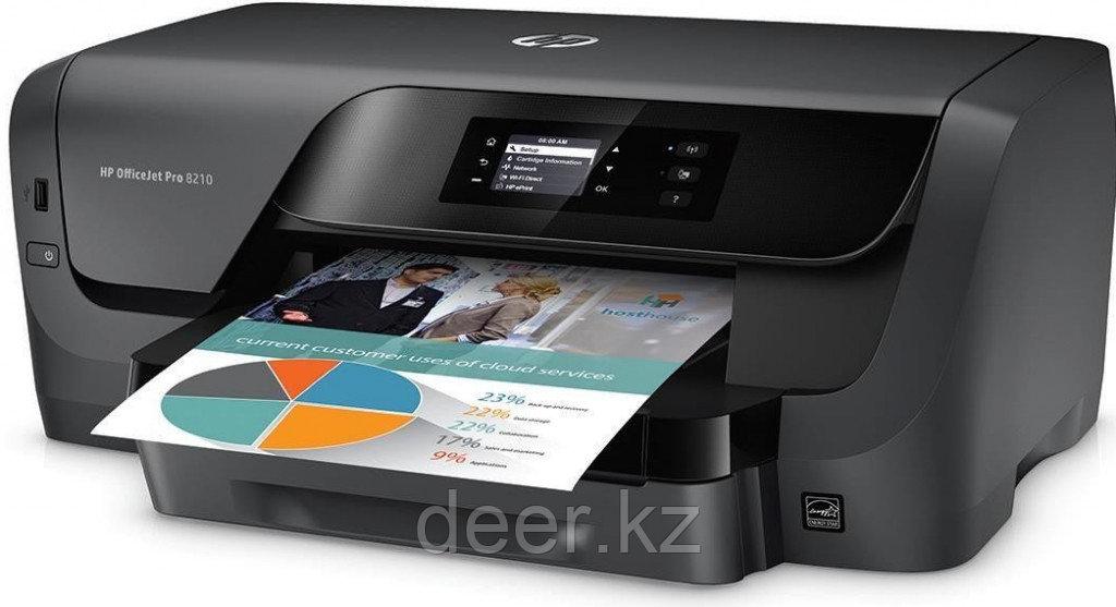 Принтер струйный HP D9L63A HP OfficeJet Pro 8210 (A4)
