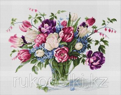 """Набор для вышивания крестом """"Тюльпаны"""""""