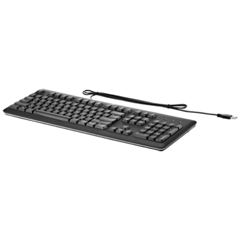 Клавиатура HP QY776A6 USB Keyboard (KAZ)