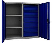 Шкаф инструментальный металлический ТС-1095 100206 (1000х950х500 мм)