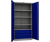 Шкаф инструментальный металлический ТС-1995-004030 (1900х950х500 мм)