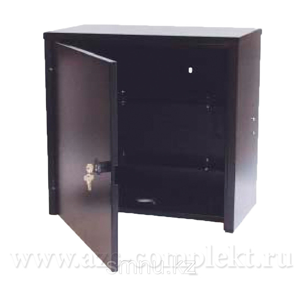 Бокс металлический  черного цвета с ключами 300*220*100