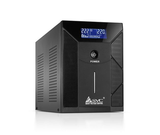 ИБП SVC V-3000-F-LCD (3000 ВА, 1800 Вт)