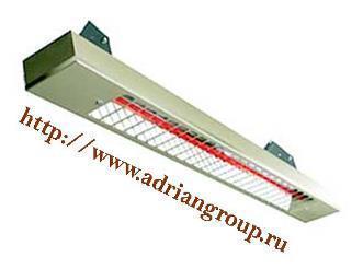 Инфракрасные электрические обогреватели Adrian-RAD® тип  ELECTRO Q, фото 2