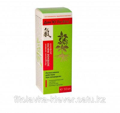 Натуральное нативное двухфазное зелёное масло Дан'Ю Па-вли, 50мл.