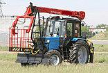 Автовышка-манипулятор на базе трактора МТЗ, фото 4