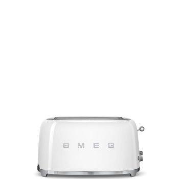 Тостер Smeg  TSF02WHEU (белый)
