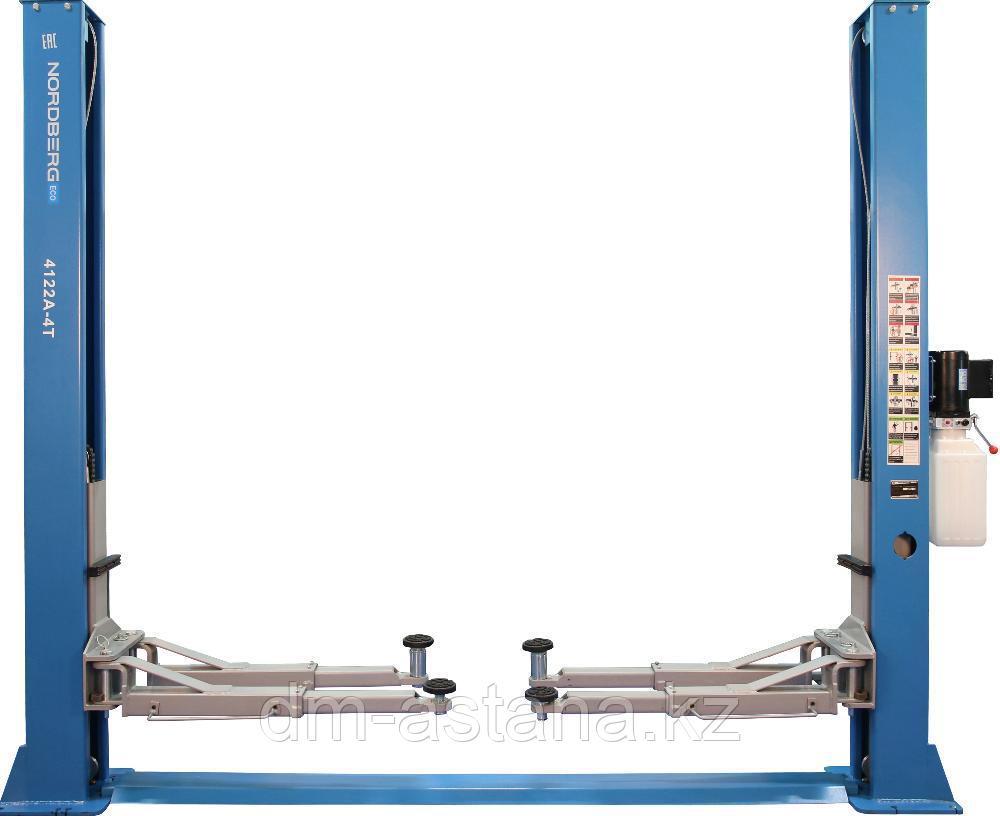 Подъемник двухстоечный, г/п 4 тонны Nordberg N4122A-4T_220V