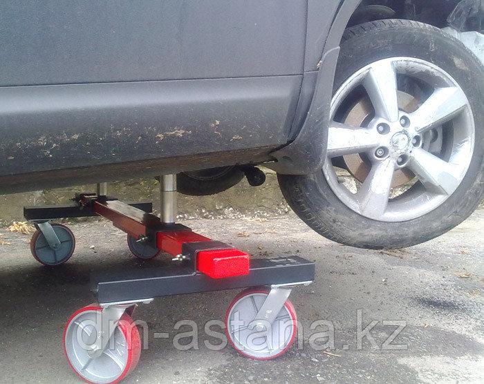 Тележка для неисправных осей автомобилей, г/п 1320 кг 52.07