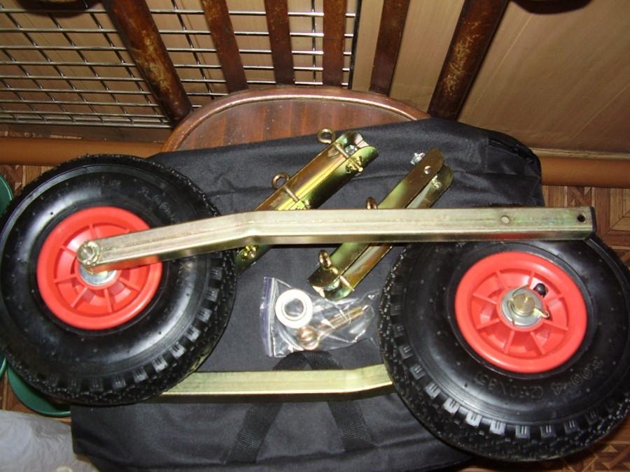 Транцевые колеса для лодок.