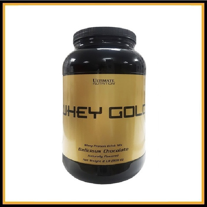 Ultimate Nutritition Whey Gold 5lb 909гр (Шоколад)