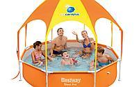 Детский каркасный бассейн Bestway 56432 Splash-in-Shade Play Pool