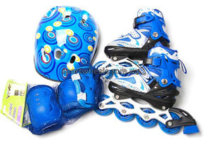 Роликовые коньки IN LINE Skate Purrple, фото 2