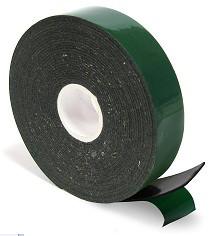Скотч двухсторонний, черный  50 мм, 30 мм
