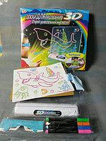 Доска магическая для 3D рисования Magic Drawing Board, фото 1