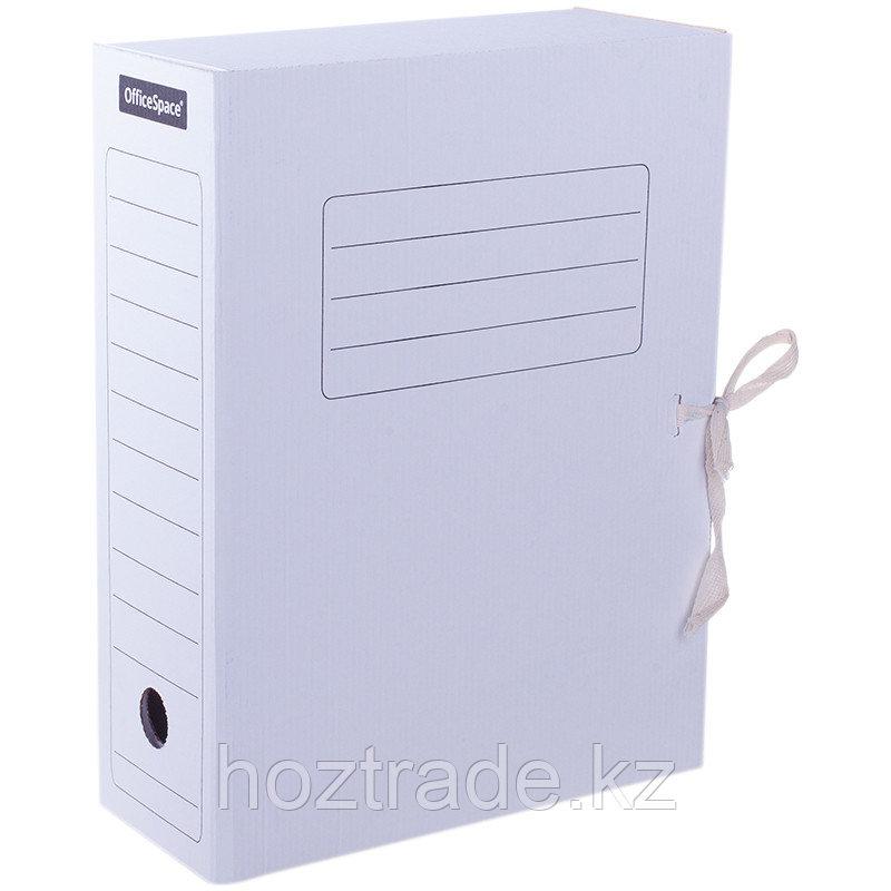 Папка архивная OfficeSpase на резинках шир.75 мм