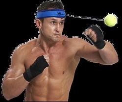 FIGHT BALL - мяч для отработки ударов , мяч для бокса, фото 3