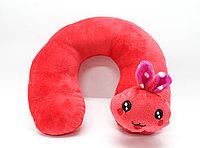 Подушка для путешествий, детская, красная, 20 см
