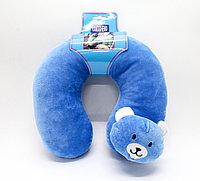 Подушка для путешествий, детская, синяя, 20 см