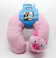 Подушка для путешествий, детская, розовая, 20 см
