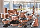 Сковорода-гриль с крышкой Berlinger Haus Rosegold Collection 28 см, фото 3