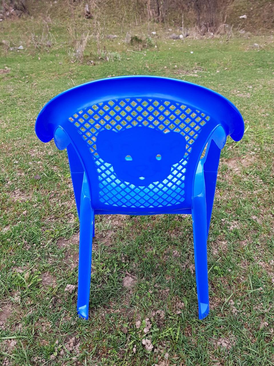 Детские стульчики пластиковые, четыре цвета - фото 5