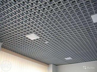 Подвесные потолки Грильято 75х75
