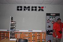 """Объемный логотип """"Omax"""""""