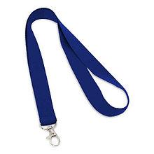 """Ланьярд под логоготип """"Синий"""""""