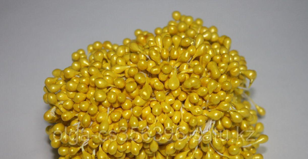 Тычинки. Светло желтые.  Creativ 2060
