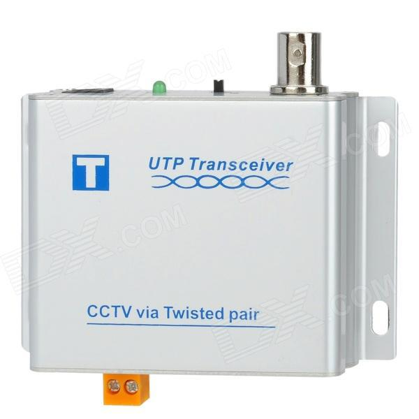 Активный 1CH усилитель видеосигнала  для AHD/TVI/CVI BNC-UTP до 3000м, приемник-передатчик в паре