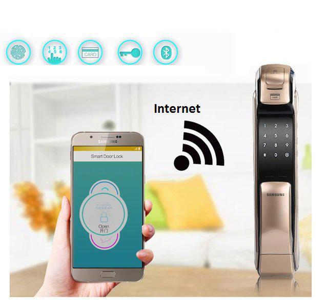 Комплект для открытия электронных замков Samsung через интернет