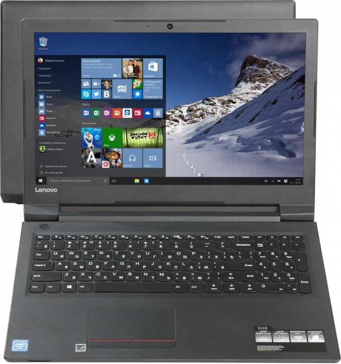 Ноутбук 80TG00G2RK Lenovo V110-15IAP 15.6