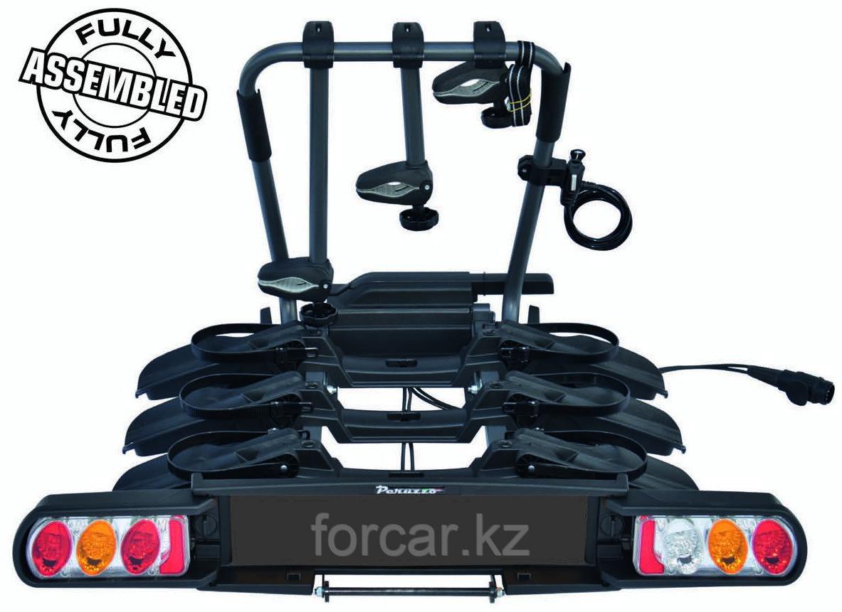 Багажник для перевозки 3-х велосипедов на фаркопе Peruzzo Pure Instinct (Италия)