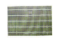 Коврик для сервировки, 44*30 см, черно-зеленый