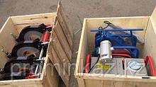 Утюг для пластиковых труб 90-315мм, (гидравлический)