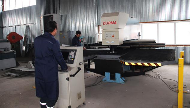 Обработка металла на координатно-просечном оборудовании