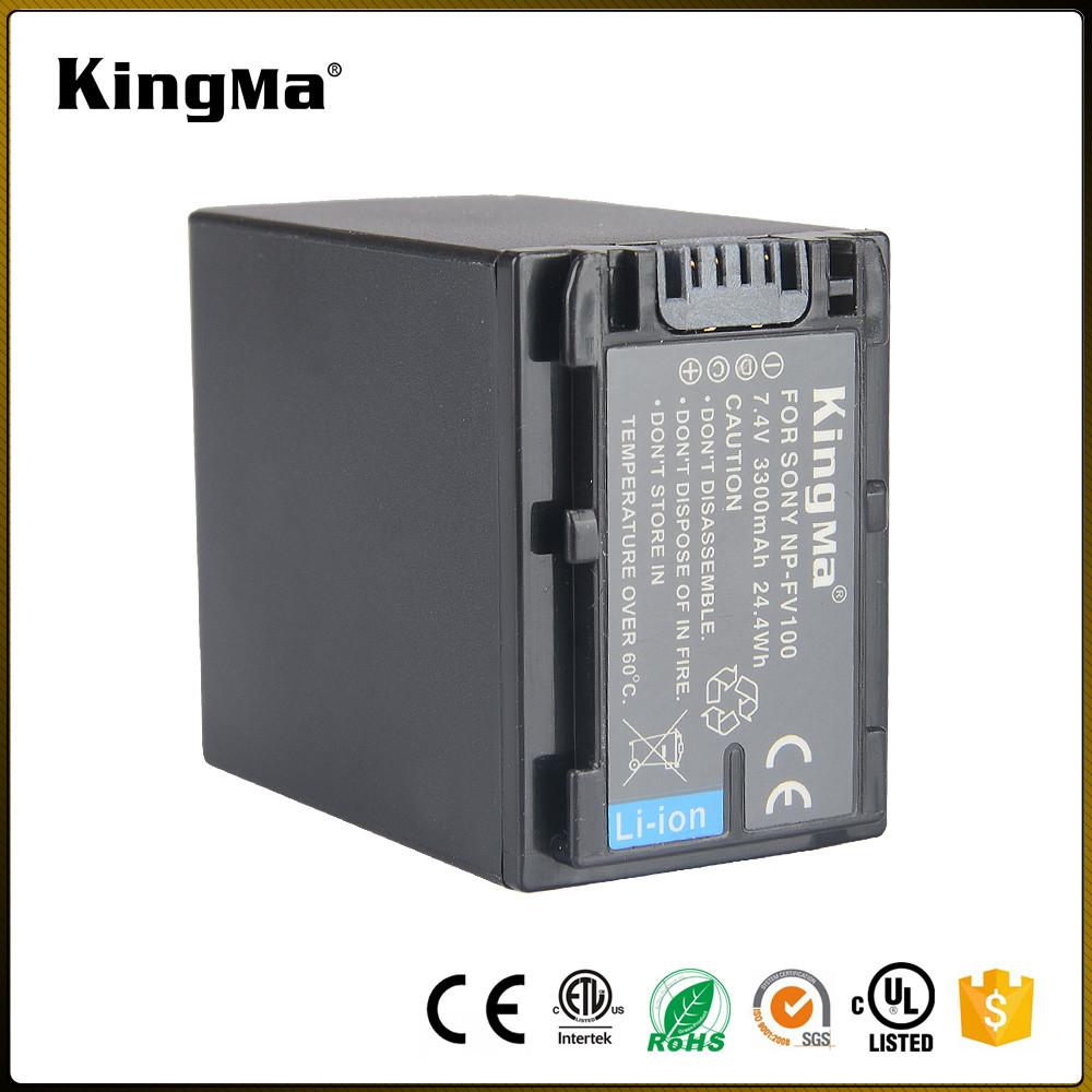 NP-FV100. Аккумулятор KingMa для фото/видео Sony