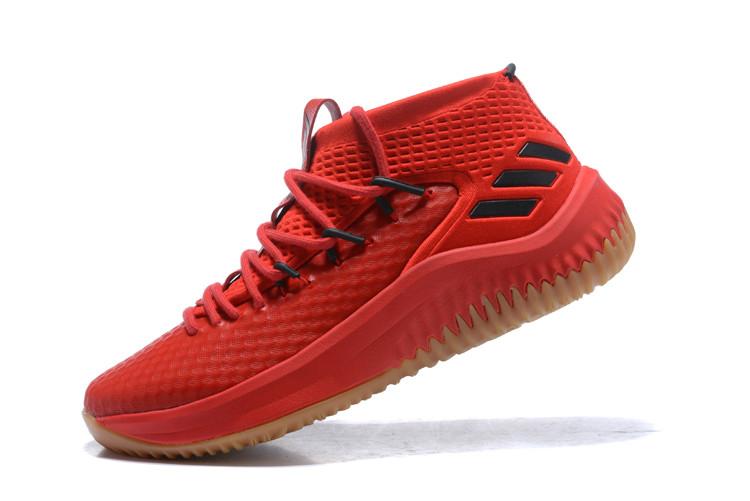 "Баскетбольные кроссовки Adidas Dame IV (4) from Damian Lillard ""Red"""