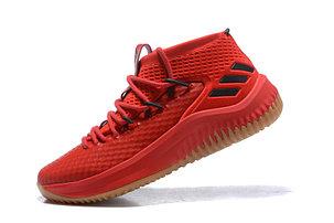 "Баскетбольные кроссовки Adidas Dame IV (4) from Damian Lillard ""Red"", фото 2"