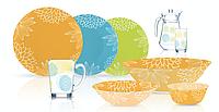 Столовый сервиз Luminarc Gardenia 46 предметов на 6 персон