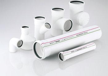 Система шумопоглащающей канализации Rehau
